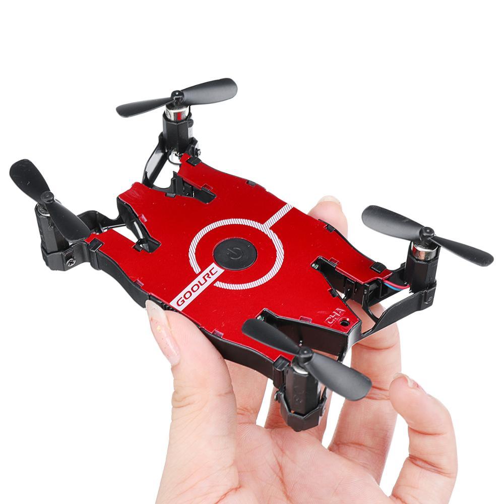 Ultrathin Quadcopter Drone 720P Camera Wifi FPV Selfie Auto Foldable Arm Altitud